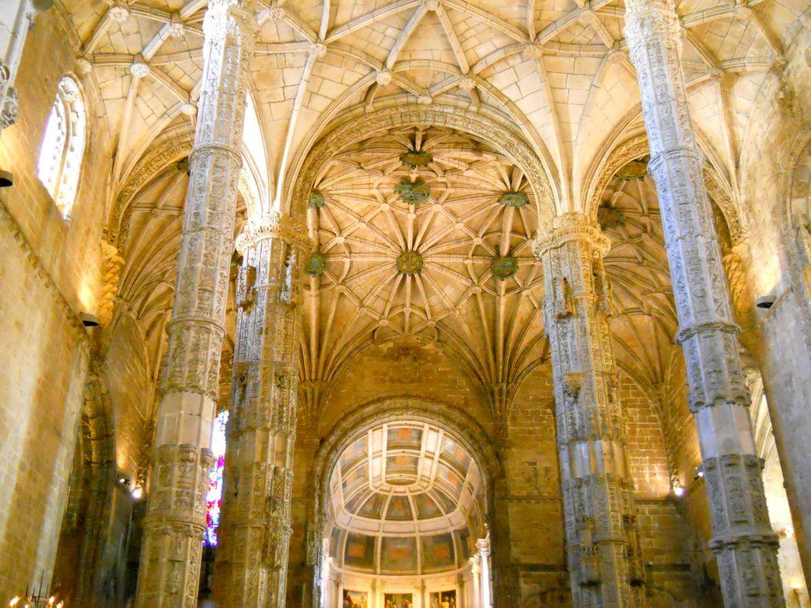 Monastère de Jéronimos à Lisbonne (quartier de Bélém)