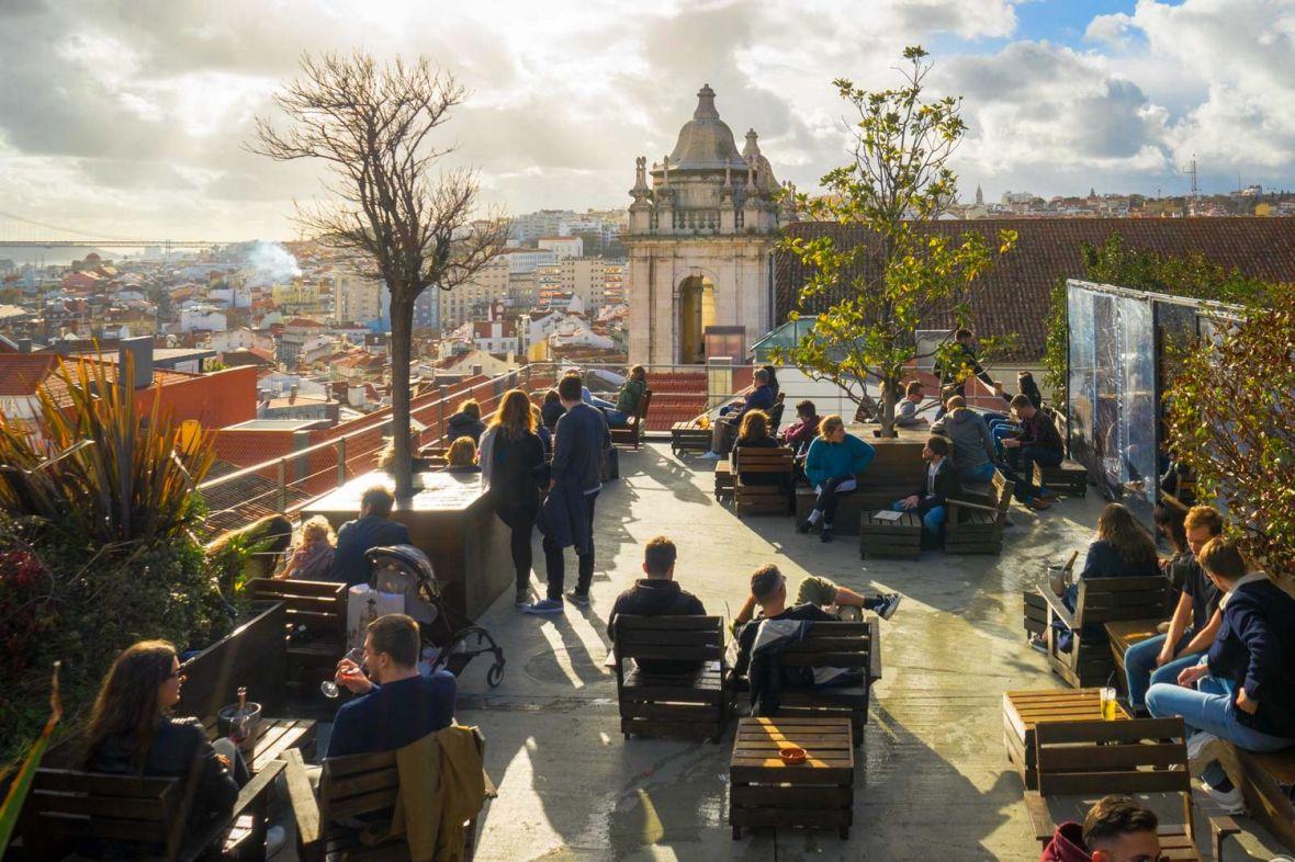 Rooftop bar - Park bar Lisboa