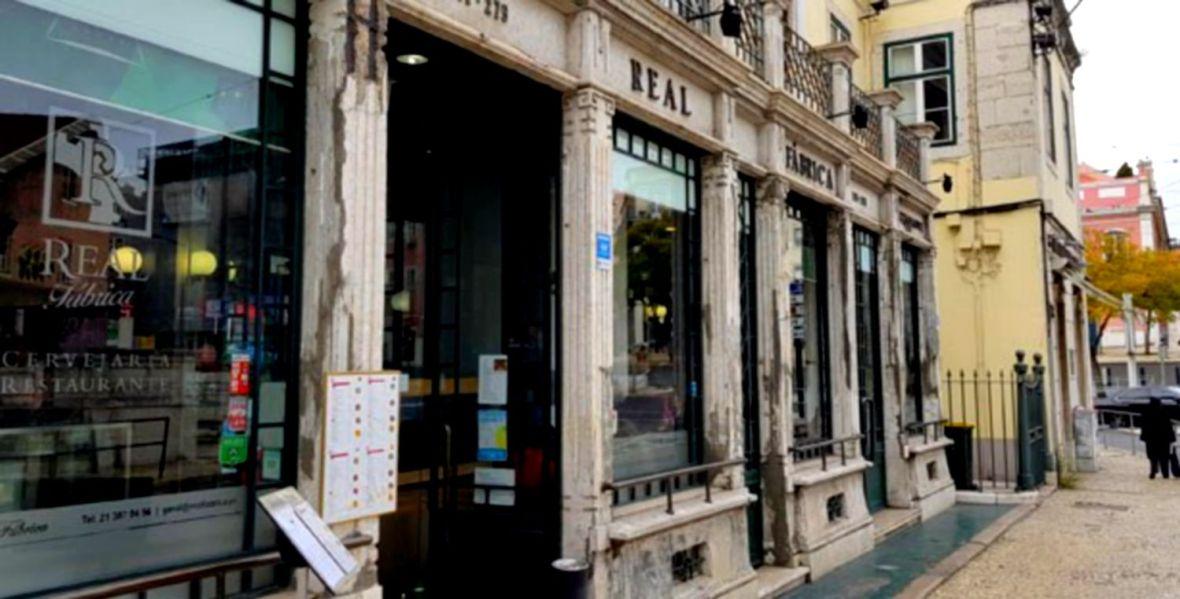 Un des Meilleurs Resto de Lisbonne - le Real Fabrica au Metro Rato