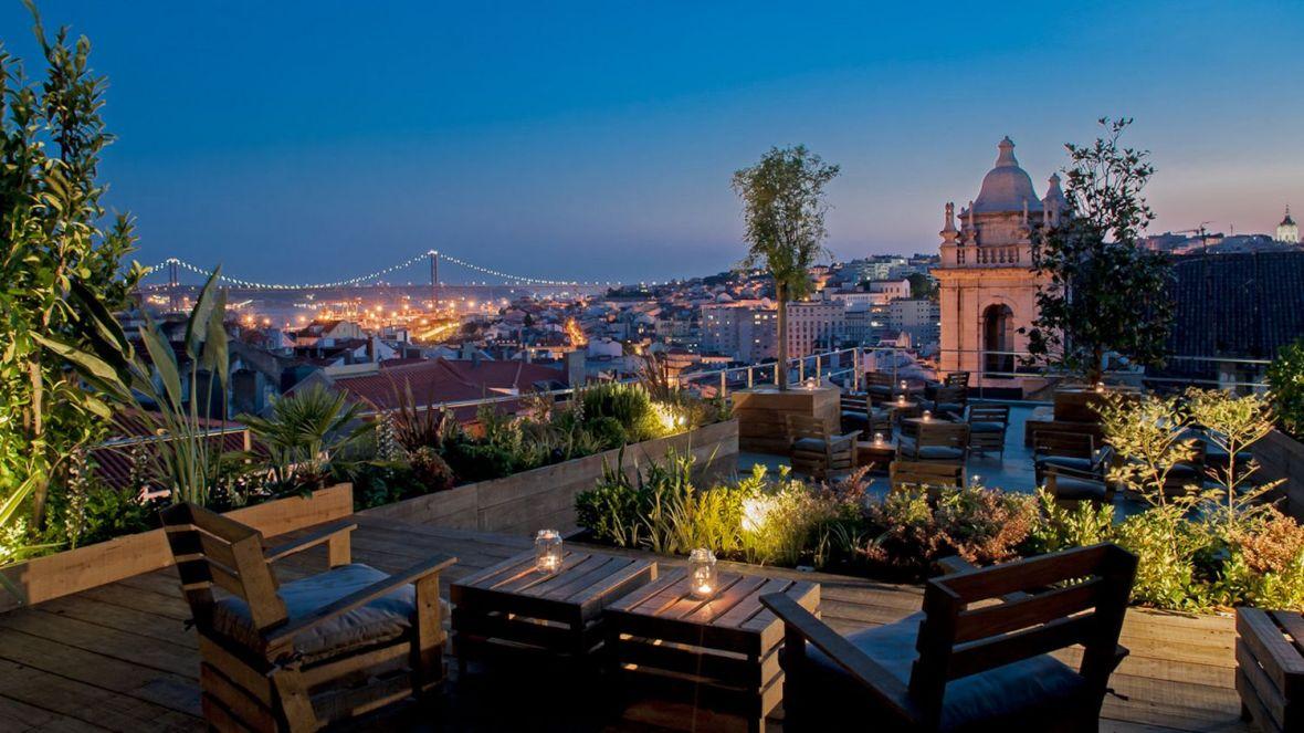 Bar toit Terrasse - Rooftop café - Lisbonne