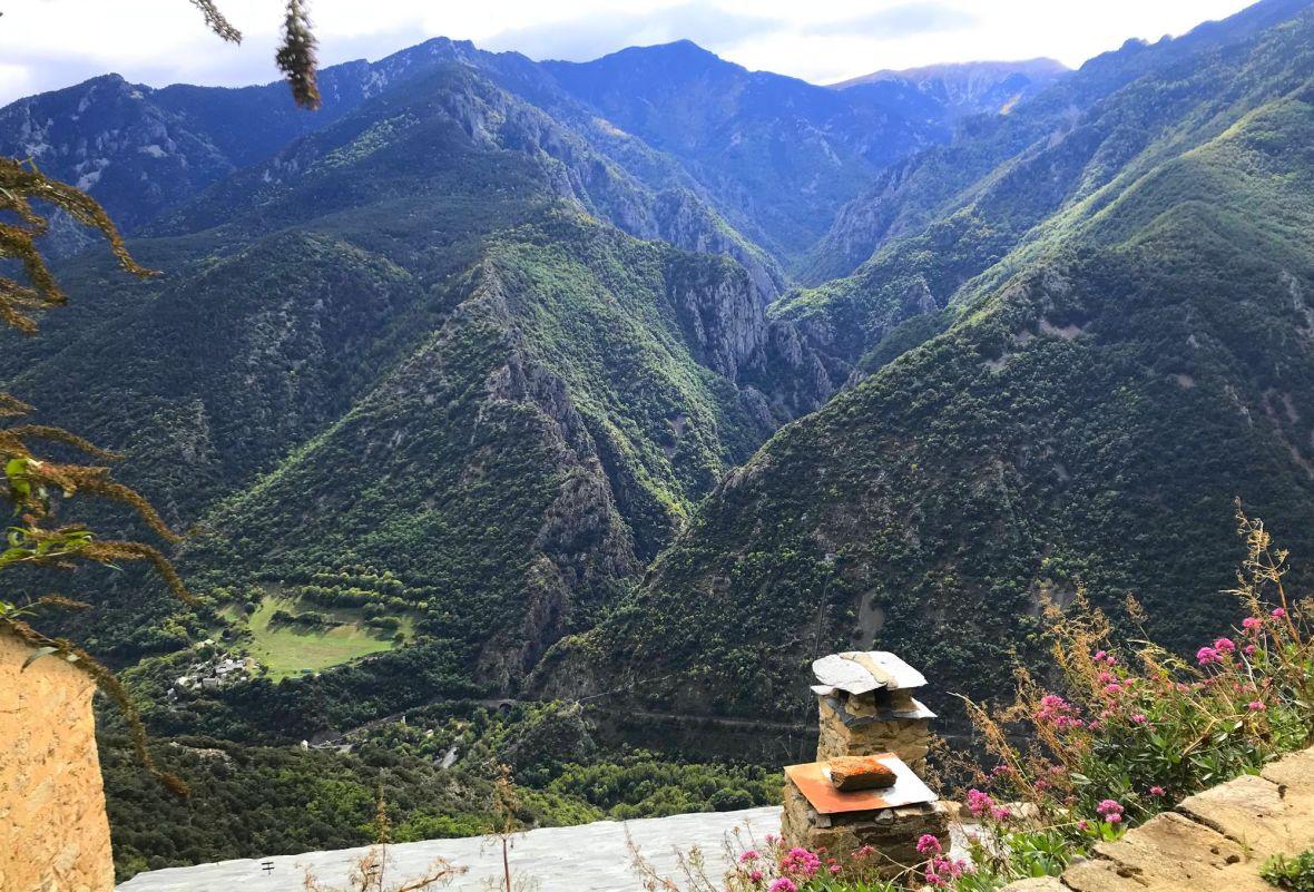 vallee canaca vue du ciel