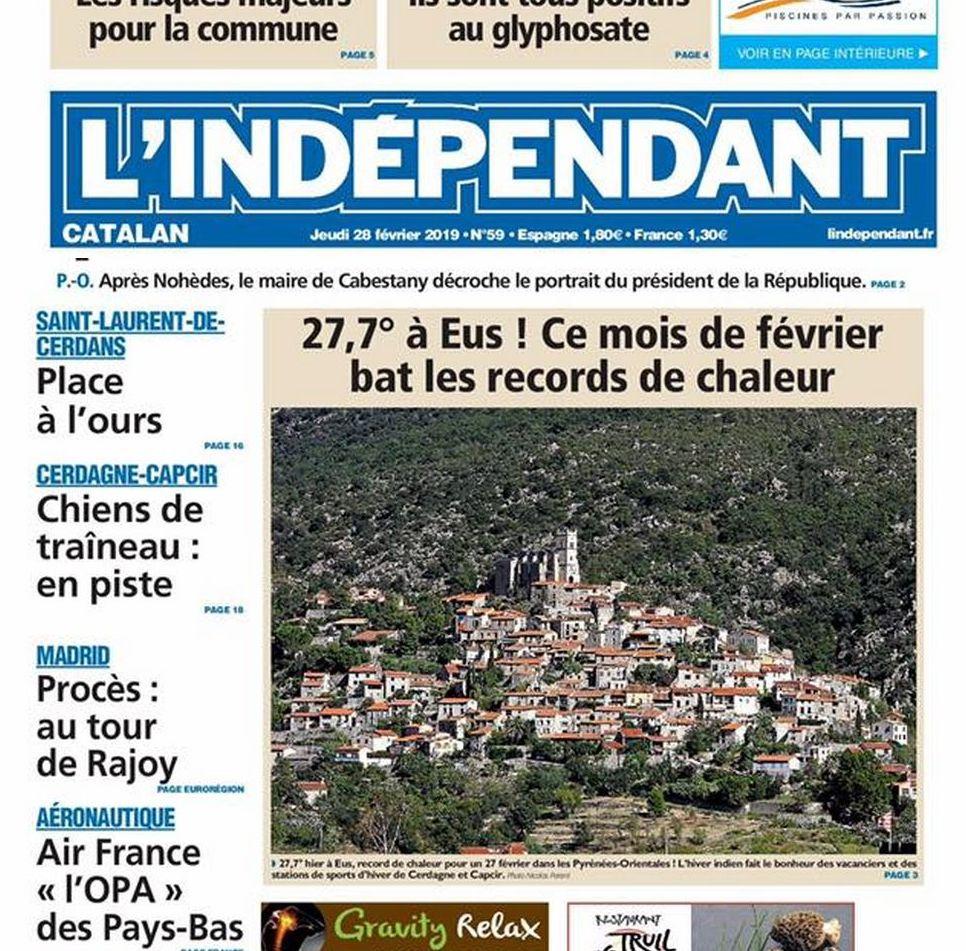Village le plus chaud de France ville plus chaude france record température hiver
