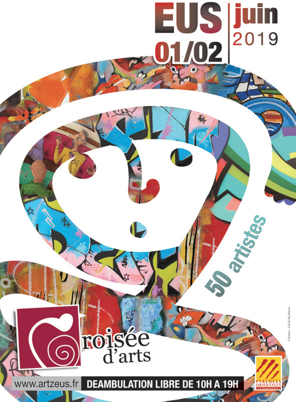 Affiche - programme croisée Art Village Eus 2019