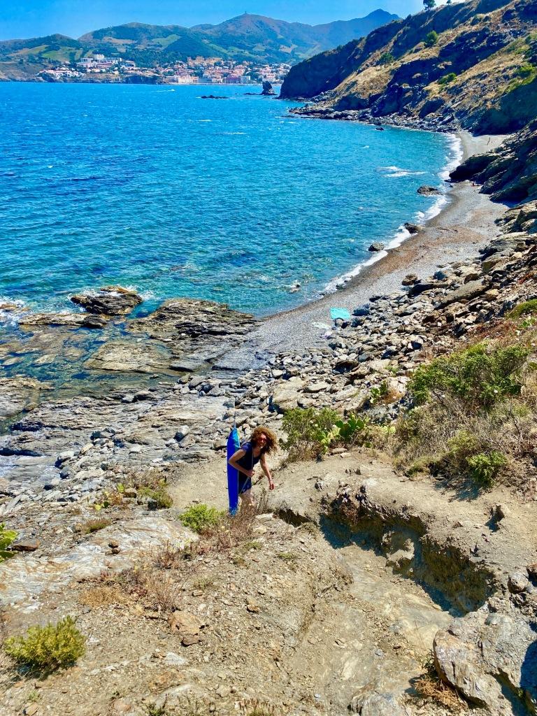 crique sauvage naturelle et naturiste paulilles port vendres plage nudiste