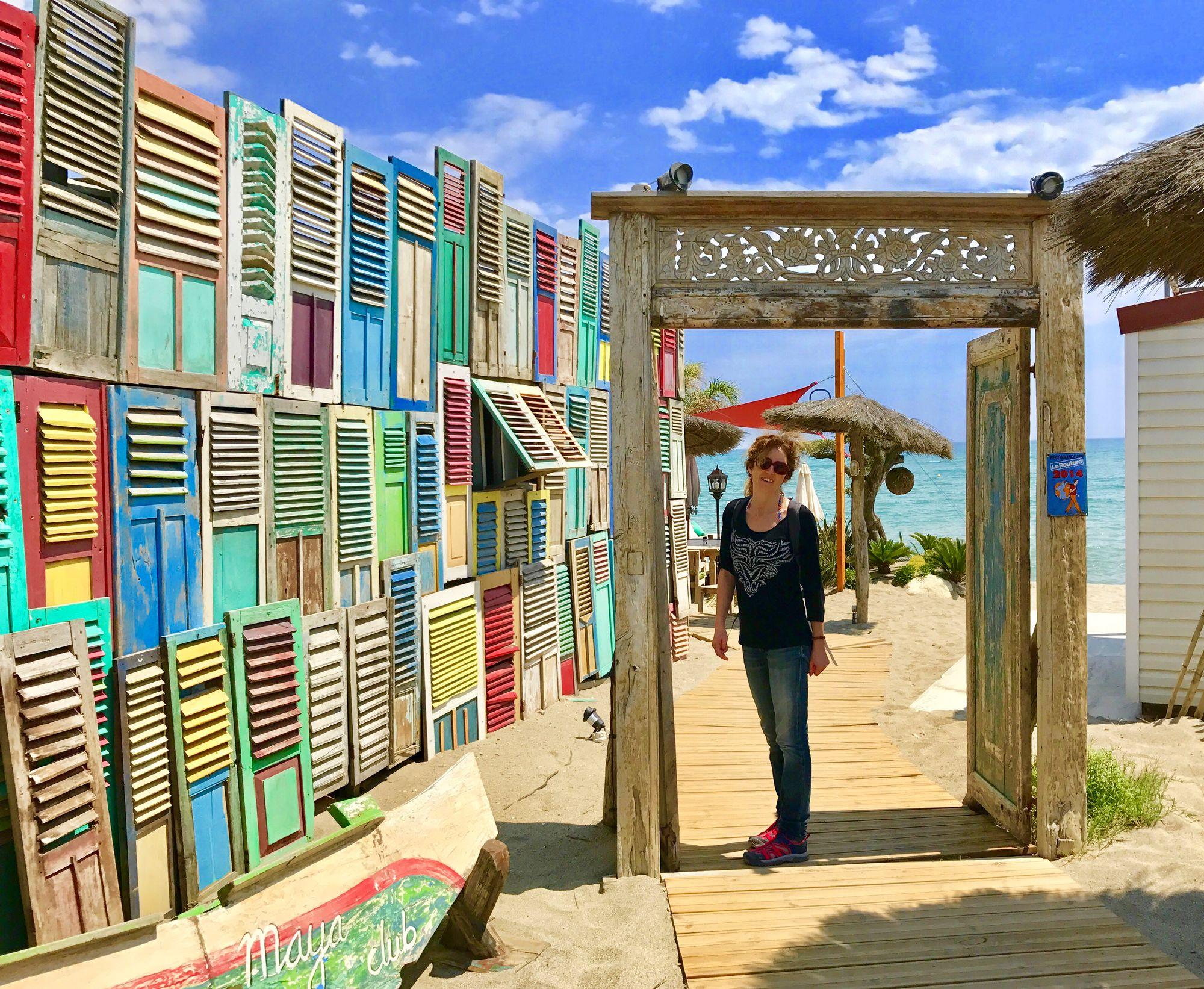 plage sauvage naturiste nature et nudiste plus belle plage meditterranee proche de perpignan Maya club restaurant bon rapport qualité prix