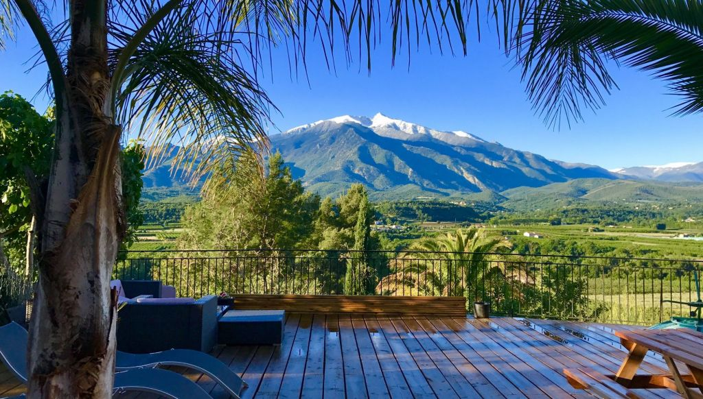 maison hotes chambres casa ilicia eus pyrenees orientales Canigou prades