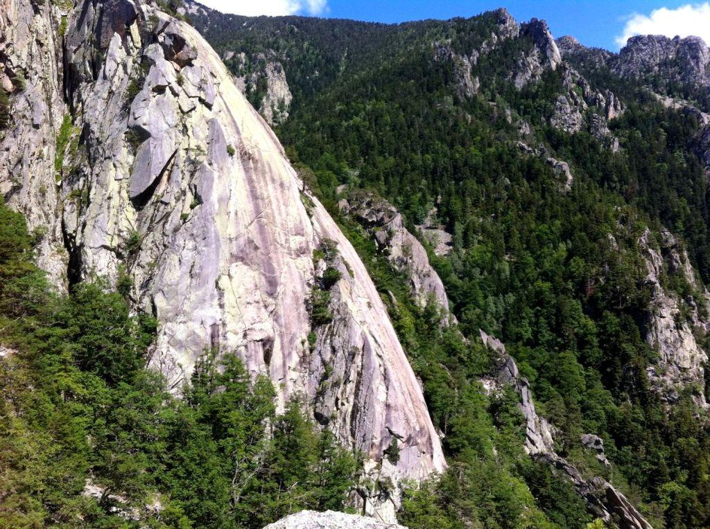 petit Yosemite escalade mariailles canigou