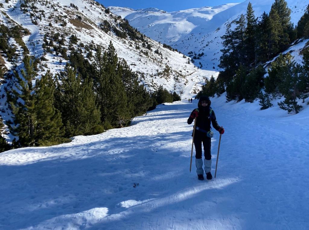 depart piste bleue puigmal station ski