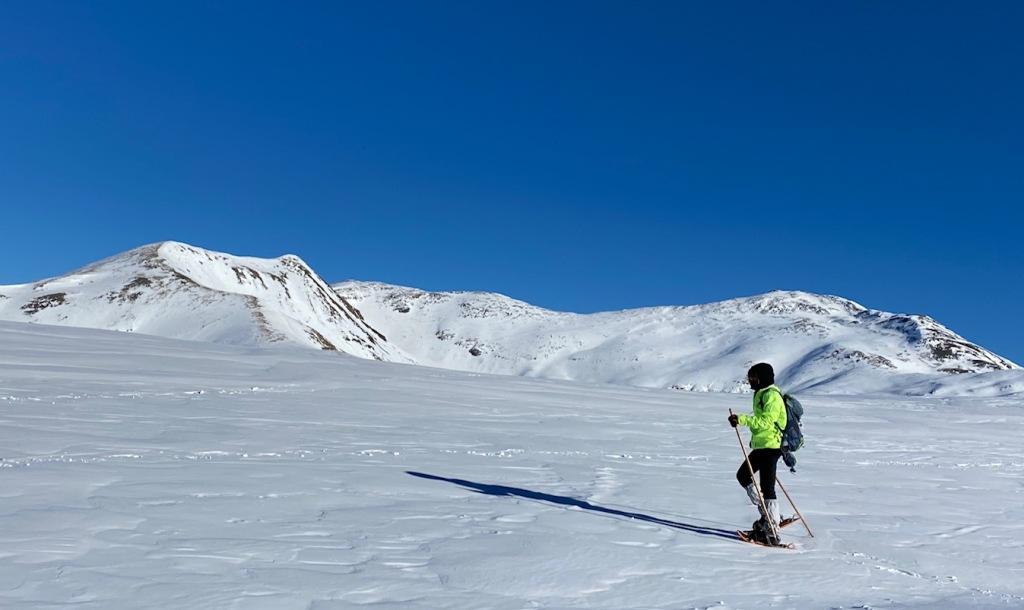 Randonnée raquettes panoramique Puigmal Cerdagne Pyrenees Trek trekking hivernal
