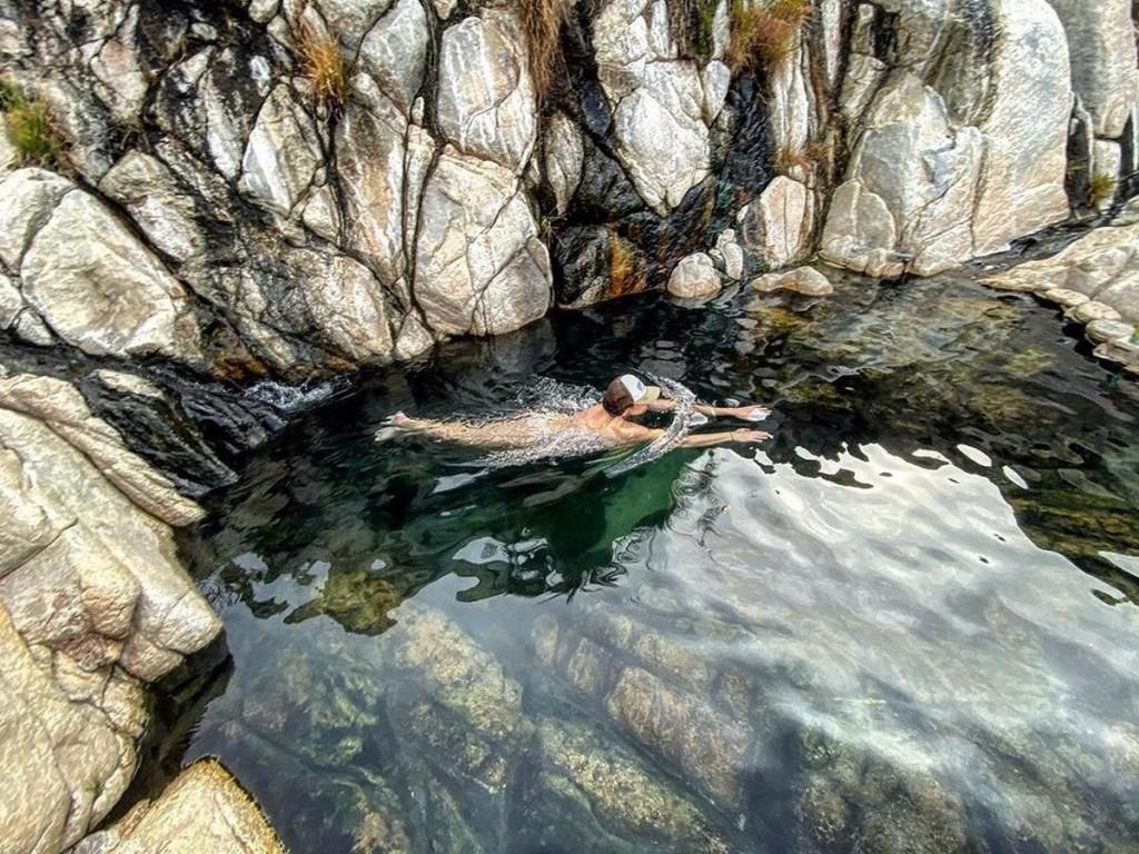 canyon eau chaude naturelle