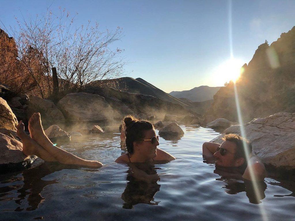 romantique bain chaud casa ilicia