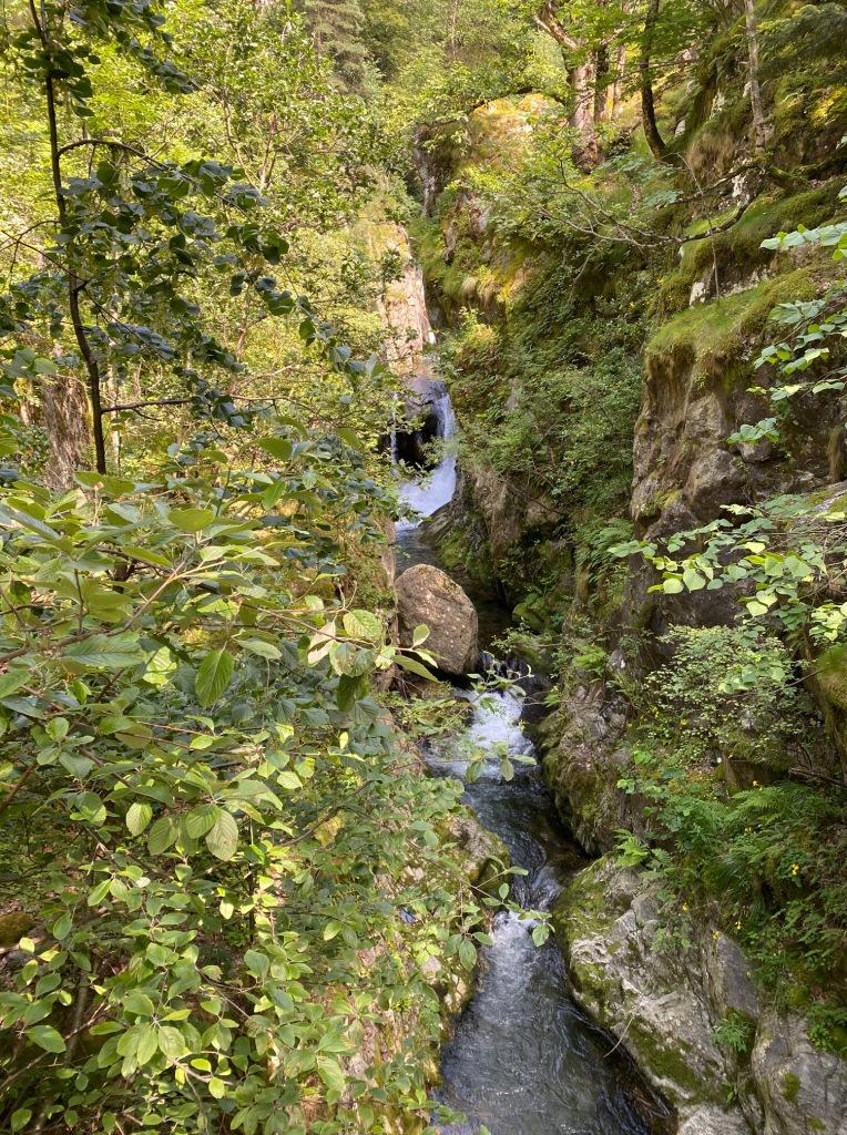 canyon du cady gorges balade facile casteil pyrenees