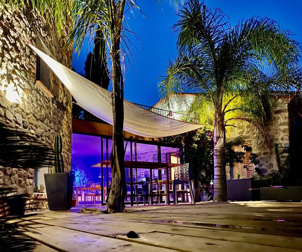 grande terrasse de la casa ilicia maison hotes de charme chambres guest house canigou