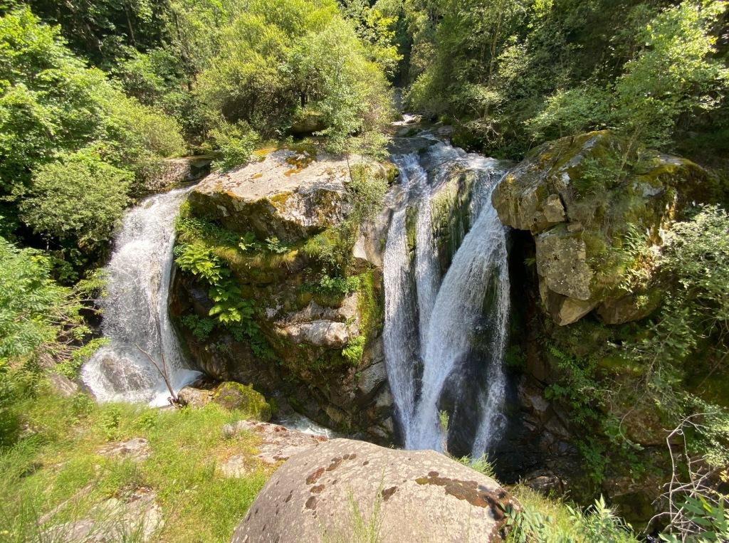 cascades du cady casteil canigou