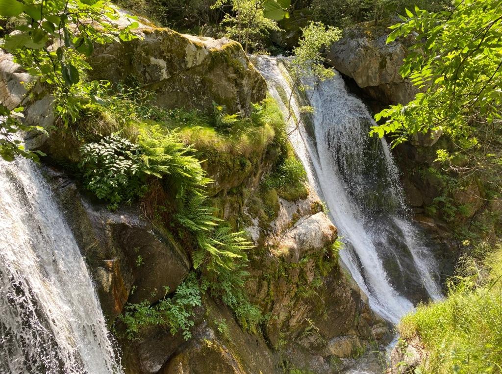 Grande cascade gorges du cady
