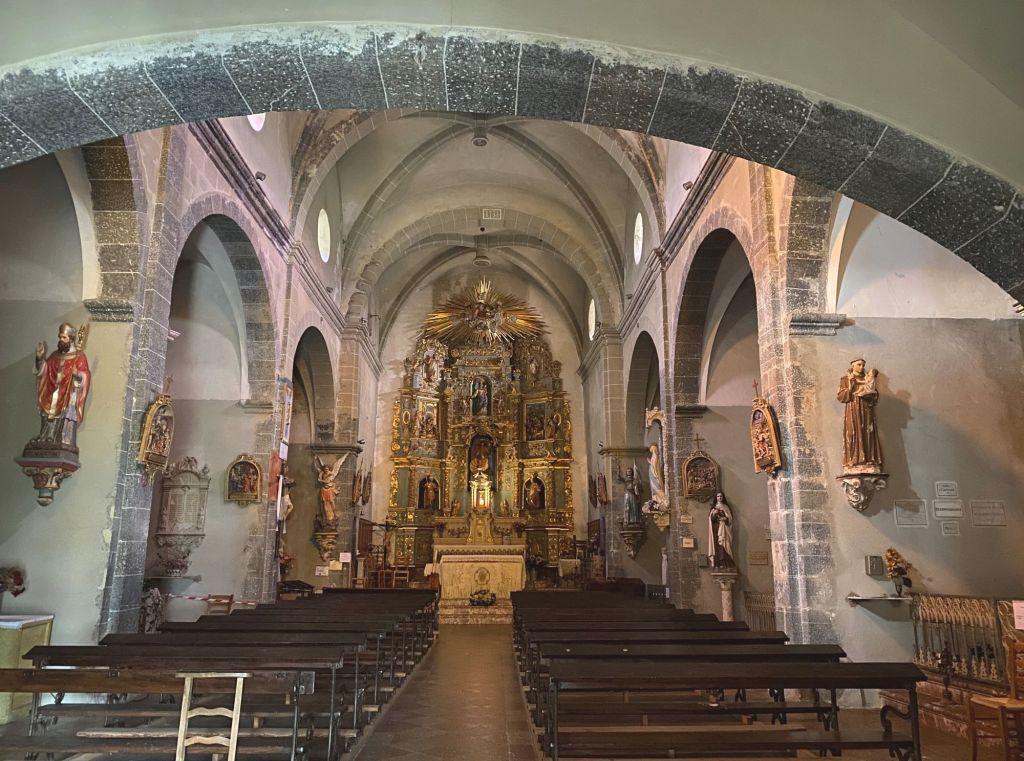 église saint vincent d'eus cathédrale tout le bleu du ciel joanne emile