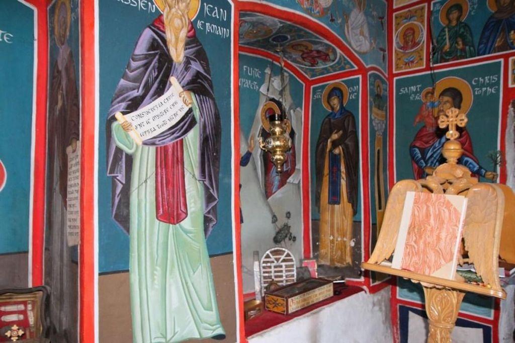 chapelle secrete et mystérieuse du canigou