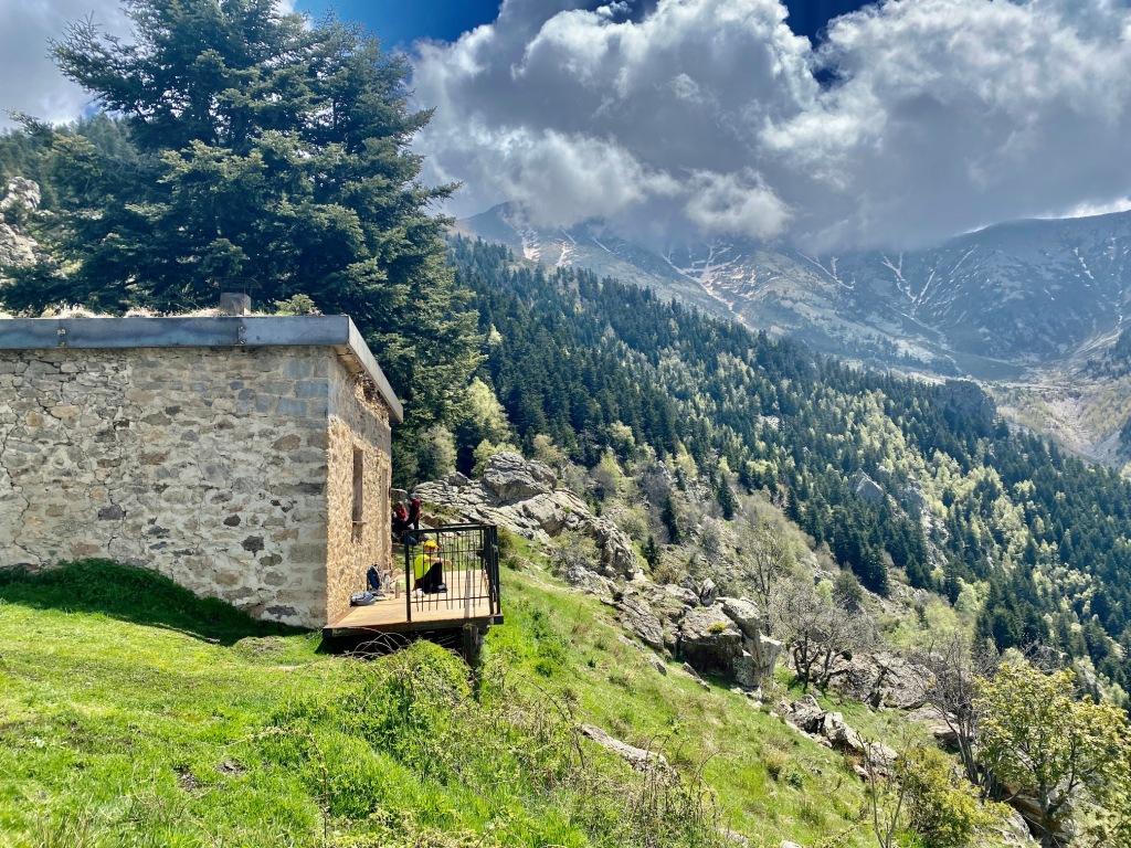 refuge bonaigua GR10 GR36 GRP tour du Canigou entre balaig et Mariailles