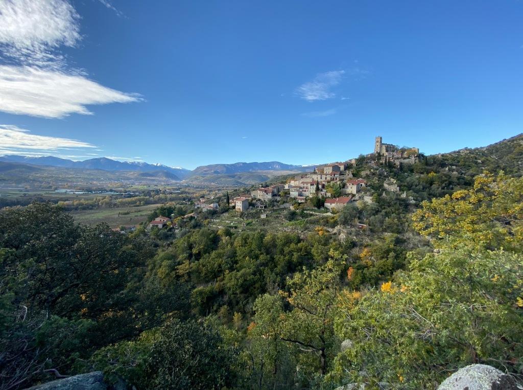 plus beaux village des pyrenees eus evol castelnou villefranche de conflent 66