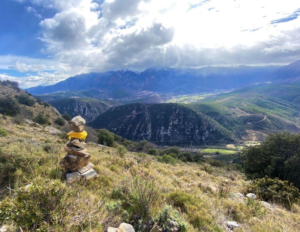 vallée Tet et Cady panorama randonnée villefranche de conflent